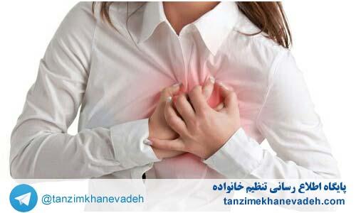سینه های دردناک و بادکرده می تواند نشانه بارداری باشد