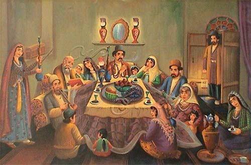 عادات و آیین مرسوم ایرانیان در شب یلدا