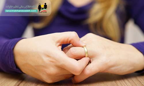 نحوه اطلاع از طلاق غیابی زن