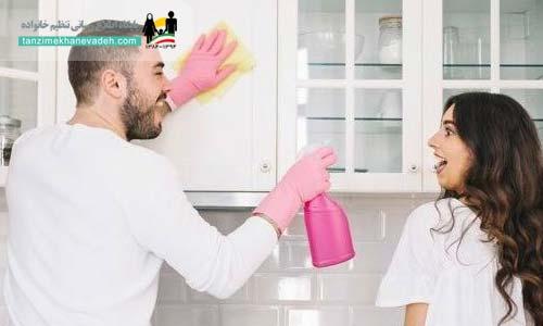 کمک کردن مردی که همسرش را دوست دارد
