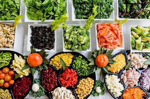 مواد غذایی کم کالری