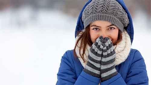 افراد دارای طبع سرد تحمل سرما را ندارند