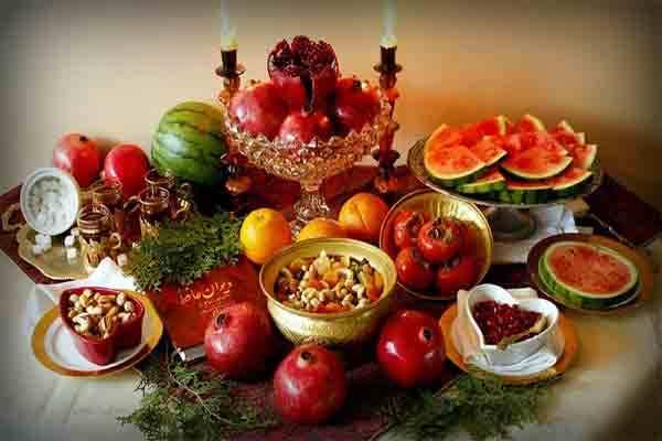 آداب و رسوم شب یلدا در استان های مختلف
