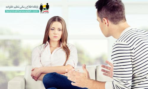 رفتارهای نامناسب همسر