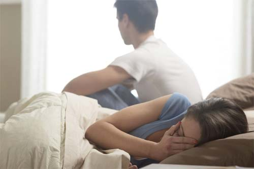 درد رابطه جنسی به دلیل خارش یا سوزش و وجود ترشحات