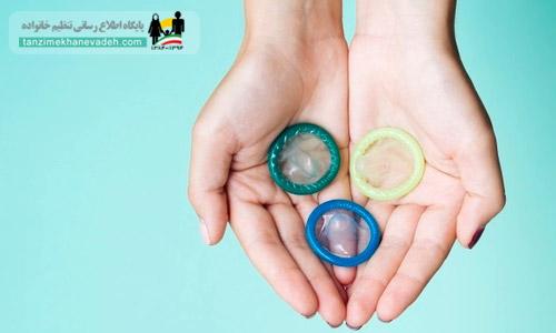 کاندوم مردانه برای جلوگیری از بارداری