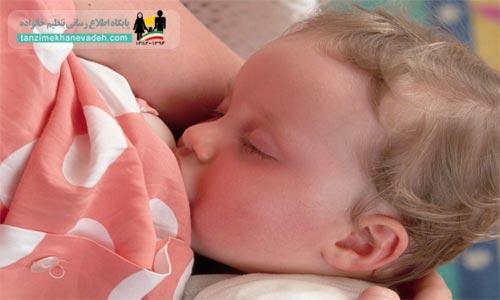 انتقال کرونا از شیر مادر