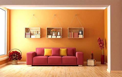 رنگ مناسب اتاق های اتاق نشیمن