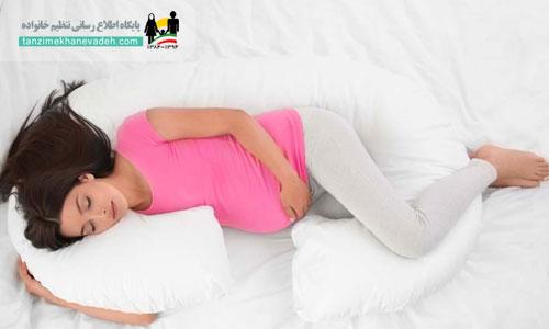 بهترین حالت خوابیدن برای زنان باردار