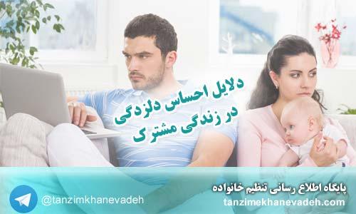 دلایل احساس دلزدگی در زندگی مشترک