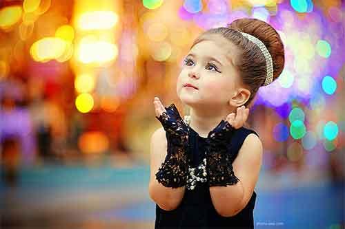 تمایل دختر بچه ها و کودکان به آرایش و عوارض آن