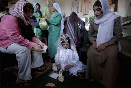 دخترانی که در خردسالی عروس می شوند
