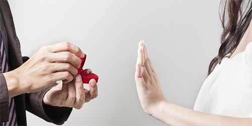 نحوه دادن پاسخ منفی به خواستگار
