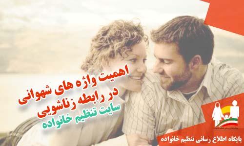 اهمیت واژه های شهوانی در رابطه زناشویی