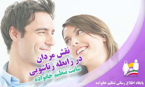 نقش مردان در رابطه زناشویی