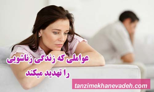 عواملی که زندگی زناشویی را تهدید میکند