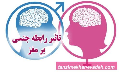 تاثیر رابطه جنسی بر مغز