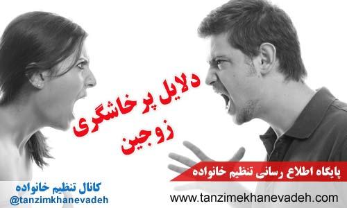 دلایل پرخاشگری زوجین