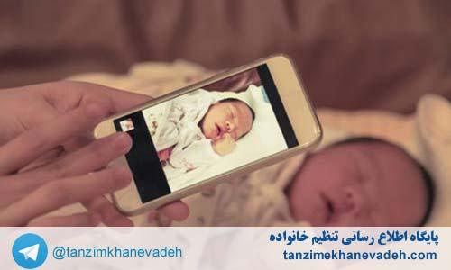 تاثیر امواج موبایل بر روی نوزادان