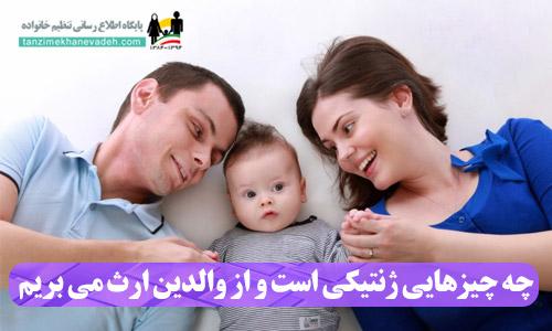 چه چیزهایی ژنتیکی است و از والدین ارث می بریم