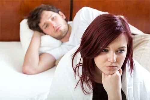 علت کم شدن میل جنسی زنان و مردان