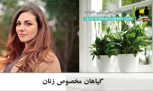 گیاهان مخصوص زنان