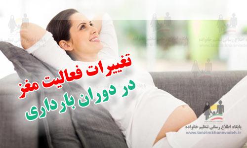 تغییرات فعالیت مغز در دوران بارداری