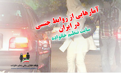 آمارهایی از روابط جنسی در ایران